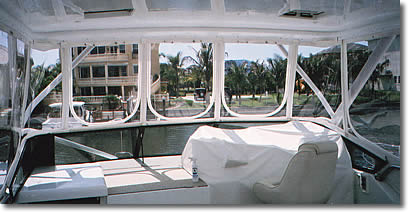 Products of Suncoast Mobile Marine Canvas, for boat covers